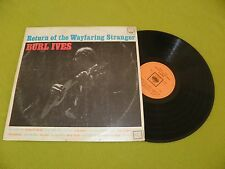Burl Ives - Return Of The Wayfaring Stranger - RARE Mono Israel Made Israeli LP