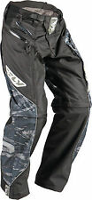 Fly Racing Patrol motocross MX BMX riding pants youth kids boys sz 20 camo black