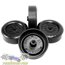 BSA Ultra-Lite Lathed Speed Wheels for pinewood derby cars from Pinewood Pro