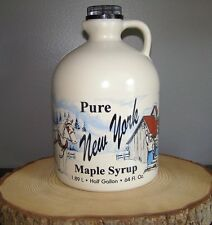 ONE GALLON PURE NEW YORK MAPLE SYRUP GRADE-A AMBER-RICH MEDIUM THREE CREEKS FARM