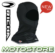 RICHA WIND ZERO BALACLAVA MOTORCYCLE MOTORBIKE WINDPROOF WINDSTOPPER BLACK BIKE