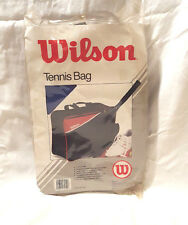 "Vintage Wilson Club Tote Tennis Gym Carrying Carry On Bag Blue Red 17""x13""x6"""