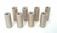 """Aluminum Round Spacers/Standoffs, 8/32 x 5/8"""" Long, 8/Lot: HH Smith 8364"""