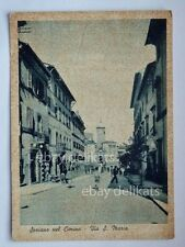 SORIANO NEL CIMINO Via S. Maria Viterbo vecchia cartolina