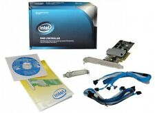 INTEL RS2BL080 8 PORT SAS/SATA 6GB/S PCIE-X8 2.0 RAID CONTROLLER CARD - NICE!