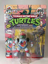 Vintage TMNT Space Cadet Raph Raphael Action Figure 1990 Playmates Unpunched MOC