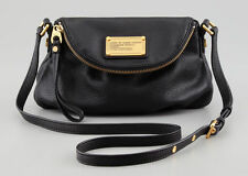 NWT MARC BY MARC JACOBS CLASSIC Q MINI NATASHA CROSSBODY SHOULDER BAG BLACK