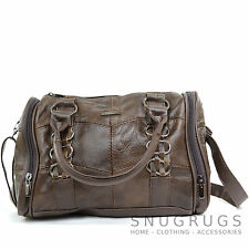 Ladies / Womens Soft Leather Handbag / Tote / Shoulder Bag