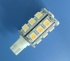 10x T10 194 921 bulb 24-5050 SMD LED Super Bright DC12V, Warm White #Z