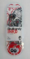 Skullcandy Ink'd 2.0 In-Ear Headphones - Black/Red - S2IKDZ-010