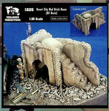 VERLINDEN 1825 - DESERT CITY MUD BRICK HOUSE - 1/35 RESIN KIT