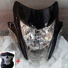Streetfighter Street fighter Motorcycle Headlight Head Light Lamp w/ Turn Signal