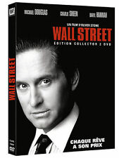 DVD NEUF pas cher WALL STREET EDITION COLLECTOR MICHAEL DOUGLAS OLIVER STONE