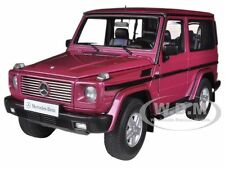 1998 MERCEDES G500 G CLASS SWB RED 1/18 DIECAST CAR MODEL BY AUTOART 76113