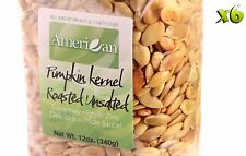 72oz Gourmet Style Bags of Delicious Roasted UnSalted Pumpkin Seeds [4 1/2 lbs]