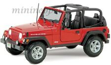 MAISTO 31663 JEEP WRANGLER RUBICON 1/18 DIECAST RED