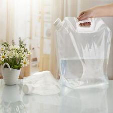 5L Trinkblase Wasserbehälter Wasserblase Trink Sack Wasserbeutel  Klar Water Bag