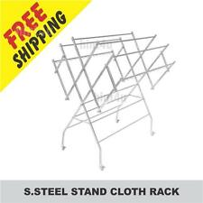 S.STEEL STAND CLOTH RACK