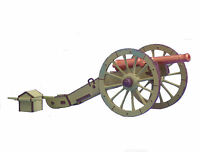 Prince August 54mm French Napoleonic Gribeaval Cannon molds moulds PA80-8