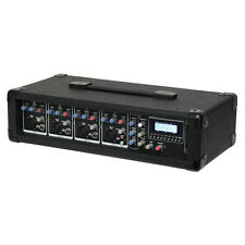 W Audio DMA200 200W MIXER potenziato AMPLIFICATORE USB SD MP3 BAND DJ PA Sistema Amplificatore