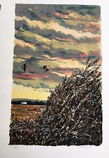 Michael Schofield Signed Serigraph Landscape Traditional  18x24 Make Offer !!