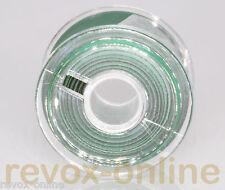 Vorlaufband, Kennband grün, ca. 5,0m 6,3mm (1/4 zoll) von revox-online