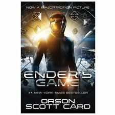 Ender's Game 1 by Orson Scott Card (2013, Paperback, Revised, Movie Tie-In)