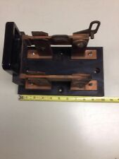 VINTAGE  Antique Knife Switch Electrical Panel Industrial 300A