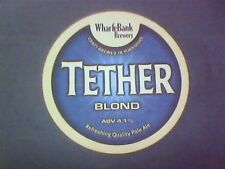 WHARFBANK BREWERY - TETHER BLOND PALE ALE  - Beermat / Coaster