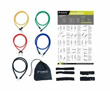 Resistance Band Set Abs latex Fitness Training Workout Tubes 12 PCS Bundle