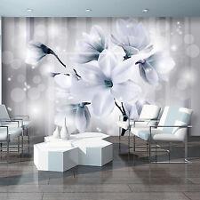 Fototapete Fototapeten Tapete Tapeten Wandbild  WEIß LILIEN BLUMEN   3FX3480P4