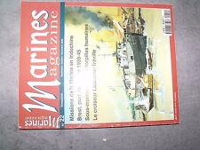 ^^ Marines magazine n°22 Brest port de guerre Latouche-Tréville Torpille Humaine