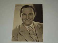 "CINEMA-CARTOLINA ANTICA ANNO 1936""FREDRIC MARCH"" RIZZOLI E C.MILANO 1936-XV"