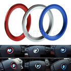 45mm Steering Wheel Center Ring Cover Logo Emblem Decoration Trim For BMW