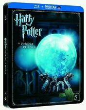 HARRY POTTER ET L'ORDRE DU PHENIX Steelbook Blu Ray NEUF SOUS BLISTER