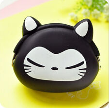 Women Lovely Silicone Storage Animal Mini Pouch Coin Bag Change Wallet Purse#6