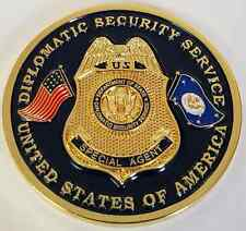 US State Department DSS Diplomatic Security Secretary of State Protective Detail