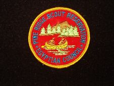 BOY SCOUT  PINE RIDGE  SCOUT RES  RED PP  EGYPTIAN CNCL   ILL