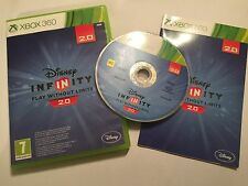XBOX 360 GAME DISNEY INFINITY VERSION 2.0 2nd +BOX & INSTRUCTIONS COMPLETE PAL