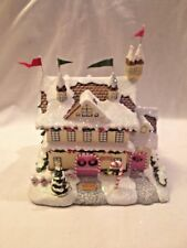 Hawthorne Village Rudolph's Christmas Town ~ Santa and Mrs. Claus Castle CoA MIB