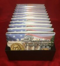Presidential Dollar Series Commemorative,Lot of 12 sets, 24 coins, 12 Presidents