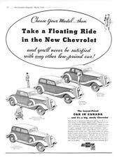 1934 Chevrolet  - 10 Models   -  Canada