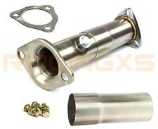 "Adjustable 2.5"" decat pipe Honda Civic CRX B-series B16 B16A B16A2 D-series"