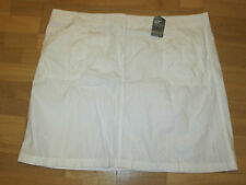 m&s white cotton cargo skirt size 24 brand new with tags