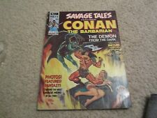 SAVAGE TALES #3 FEATURING CONAN THE BARBARIAN !!! MAGAZINE SIZED !!