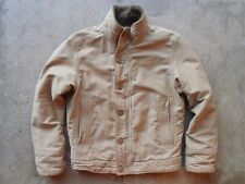 Abercrombie & Fitch Sherpa Lining Military Deck Jacket Size S USN N-1 Adirondack