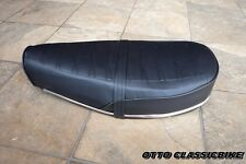 HONDA CHALY CF50 CF70 Complete Double Seat + Chrome Trim // New