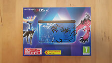 Bleu Pokemon XY 3DS XL Nintendo console-édition limitée-PAL uk new & sealed