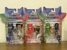 Disney PJ Masks Figurine Lot Romeo Catboy Luna girl Night Ninja Owlette