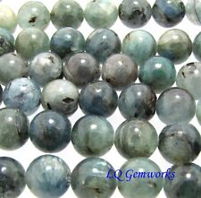 "15"" Strand AQUA KYANITE 10mm Round Beads"